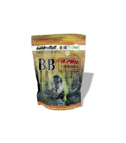 BB´S GOLDENBALL INVISIBLES 1KG - 0.20G